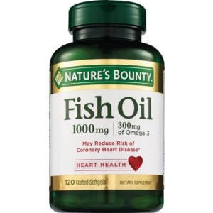 Nature's Bounty Odorless Fish Oil Softgels 1000mg