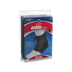 Mueller Sport Care Ankle Brace Bilateral Black X-Large 211xl