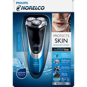 Philips Norelco Electric Razor with Aquatec PowerTouch AT810