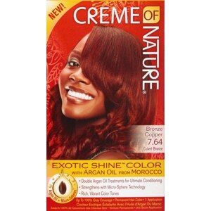 Creme Of Nature Permanent Hair Color 6.4 Bronze Copper