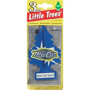 Little Trees Air Fresheners 3 Pak New Car Scent