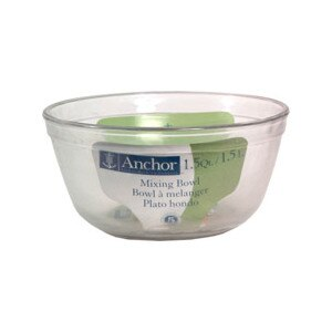 Anchor Hocking 1.5 qt Glass Mixing Bowl