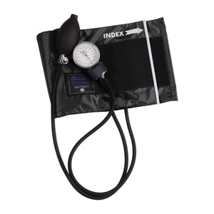 MABIS Legacy Series Aneroid Sphygmomanometer Manual Blood Pressure Monitor with Arm Cuff, Adult