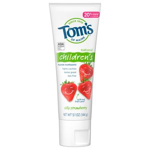 Tom's of Maine Kid's Silly Strawberry Toothpaste, 4.2 OZ
