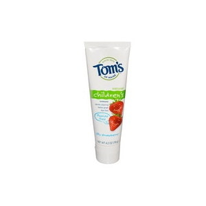 Tom's of Maine Tom's of Maine Naturally Foaming Fluoride-Free Toothpaste Silly Strawberry