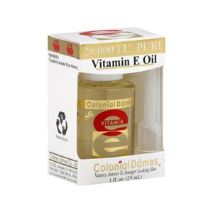Colonial Dames Pure Vitamin E Oil 28,000 IU