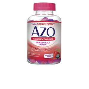 AZO Cranberry Gummies Urinary Tract Health Berry, 72CT