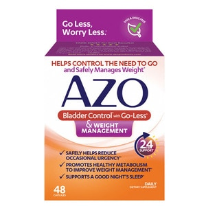 Azo Bladder Control >> Azo Bladder Control Weight Management 48ct Cvs Pharmacy