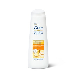 Dove Dermacare Scalp Anti-Dandruff Shampoo Dryness & Itch Relief, 12 OZ