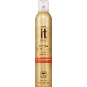 Freeze It Hair Spray Mega Super Hold 24 Hour Hold