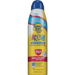 Banana Boat Kids Tear Free Continuous Spray Sunscreen SPF 50