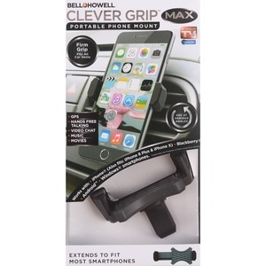 As Seen On TV Bell + Howell Clever Grip Portable Phone Mount