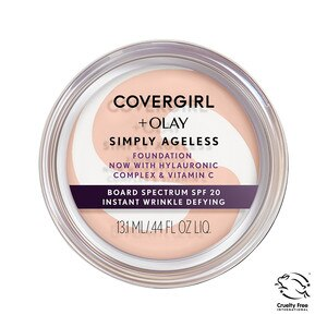 Covergirl & Olay Simply Ageless Foundation Creamy Natural 220, SPF 22