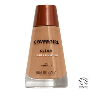 CoverGirl Clean Foundation for Normal Skin Classic Tan 160