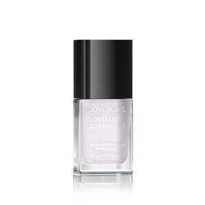 CoverGirl Outlast Stay Brilliant Nail Gloss, Crystal Clear 105