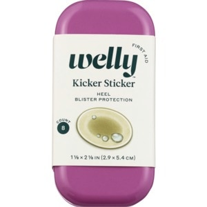 Welly Kicker Sticker Heel Blister Protection- 8ct