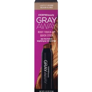 Everpro Beauty Gray Away Root Touch-Up Quick Stick, Lightest Brown