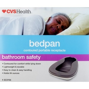 Drive Medical Bed Pan with Low Tapered Front
