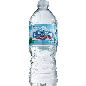Ice Mountain 100% Natural Spring Water Plastic Bottle