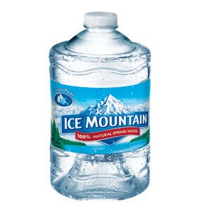 Ice Mountain 100% Natural Spring Water Plastic Jug, 101.4 OZ