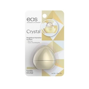 Eos Evolution Of Smooth Crystal Weightless Hydration Lip Balm, Vanilla Orchid