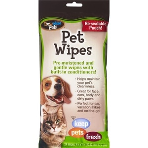 Bow Wow Pals Pet Wipes, 24 CT