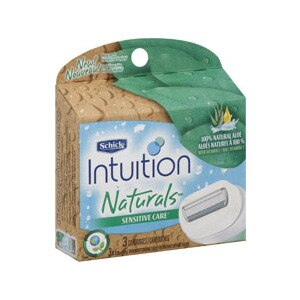 Schick intuition Naturals Razor Cartridges Sensitive Care