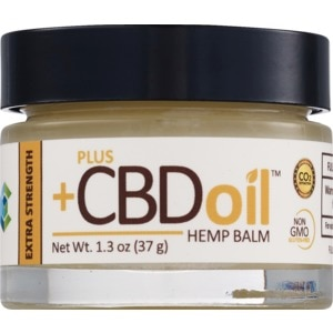 PlusCBD Oil Balm Extra Strength  - State Restrictions Apply
