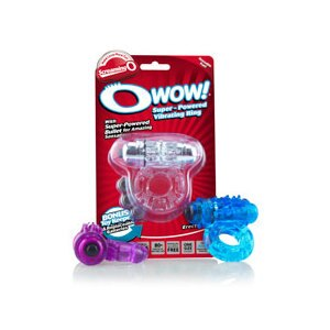 The Screaming O Super-Powered O Wow Vibrating Ring Assorted Colors