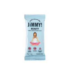 JiMMY! Beauty Protein Bar, White Chocolate Berry Bliss, 1.9 OZ