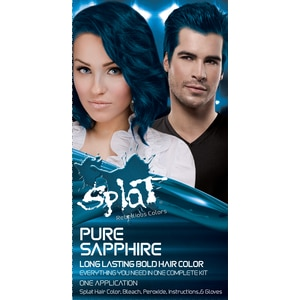 Splat Long Lasting Bold Hair Color, Pure Sapphire