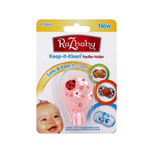 RaZbaby Keep-It-Kleen Pacifier Holder