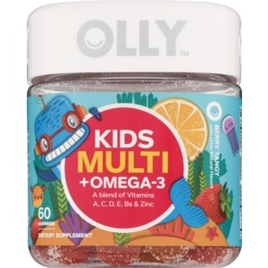 Olly Kids' Multi + Omega-3 Vitamin 60CT, Berry Tangy