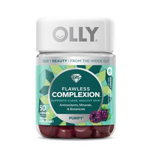 OLLY Flawless Complexion, Berry Fresh, 50CT