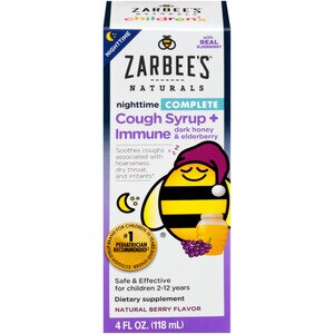 Zarbee S Naturals Complete Children S Cough Syrup Natural