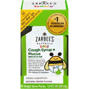 Zarbee S Naturals Baby Dietary Supplement Cough Syrup