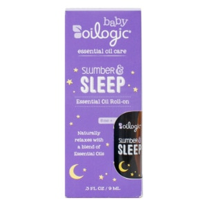 Oilogic Slumber & Sleep Essential Oil Roll On, .3 OZ