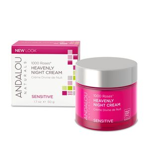 Andalou 1000 Roses Heavenly Night Cream, 1.7 OZ