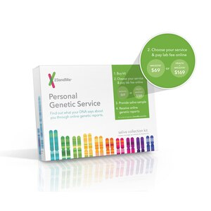 23 and Me Personal Genetic Service - Saliva Collection Kit