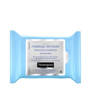 Neutrogena Makeup Remover Cleansing Towelettes, 21/Pack