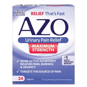 AZO Urinary Pain Relief Maximum Strength Tablets