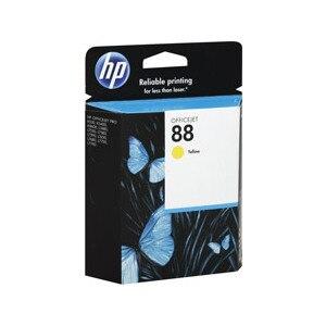 HP OfficeJet Ink Cartridge Yellow 88