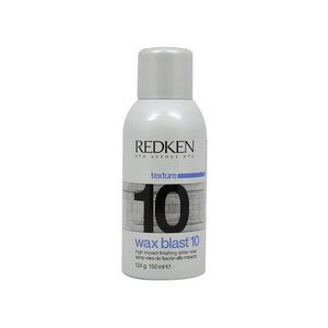 Redken Wax Blast 10 High Impact Finishing Spray Wax, 4.4 OZ