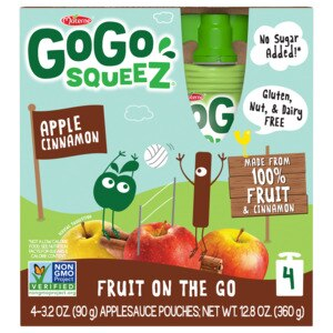 Materne GoGo SqueeZ Apple Cinnamon Applesauce on the Go