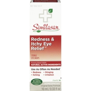 Similasan Redness and Itchy Eye Relief Drops, 0.33 OZ