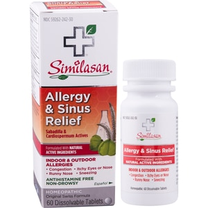 Similasan Allergy Sinus Relief, 60CT (with Photos, Prices