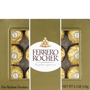 Ferraro Rocher Fine Hazelnut Chocolates