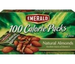 Emerald 100 Calorie Packs, Natural Almonds