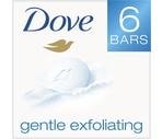 Dove Gentle Exfoliating Beauty Bars White