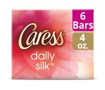 Caress Daily Silk Silkening Beauty Bars, White Peach & Silky Orange Blossom